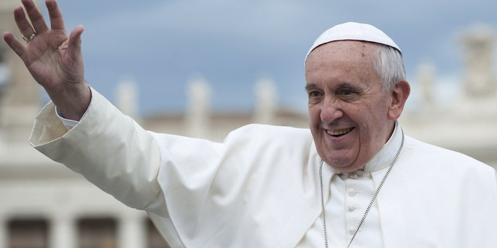 Red Letter Christians Think the Pope is a Protestant