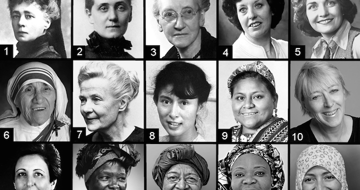 15 Women Of Peace