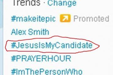 Jesus Trending