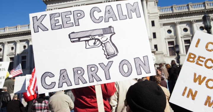 The Lie of Gun Right's Advocates – Red Letter Christians
