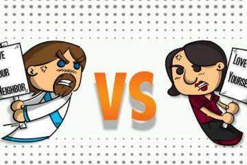 ayn rand vs jesus Copy copy