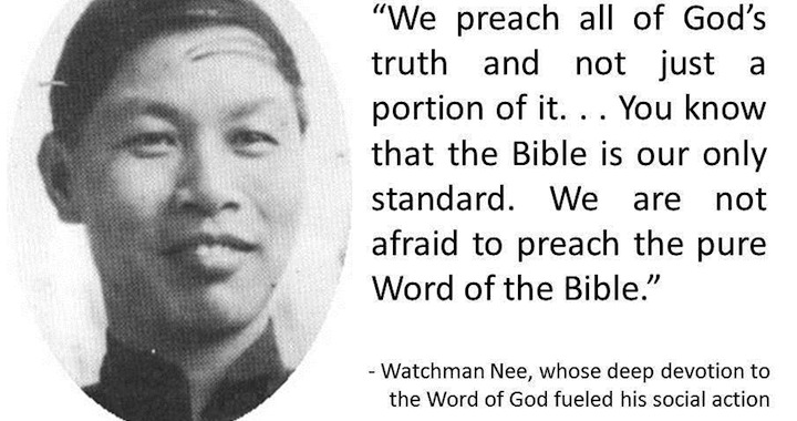 Watchman Nee A Red Letter Christian – Red Letter Christians