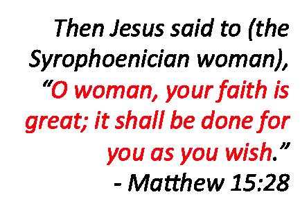 Matthew 15-28