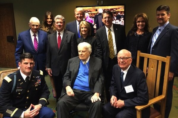 Billy Graham 95th Birthday Guests