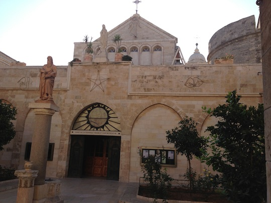 Church of the Nativity - Bethlehem; Photo by Jim Hooker