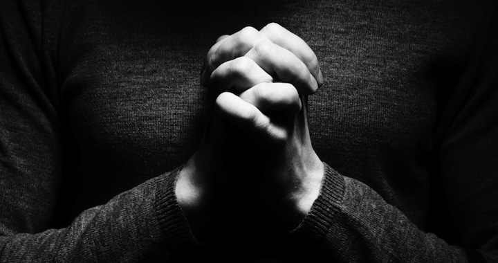 Image result for Praying in the dark