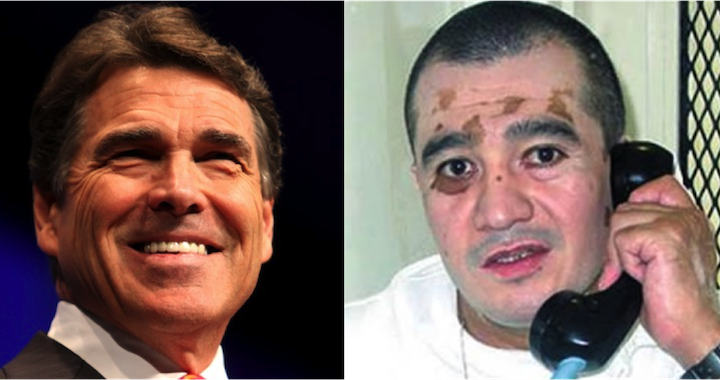 Rick Perry, Edgar Tamayo