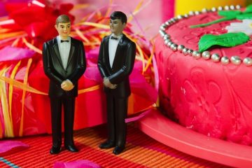 Gay Marriage Wedding Cake