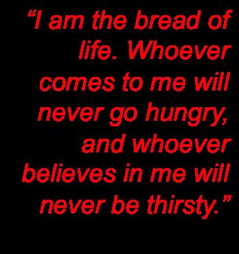 John 6 35