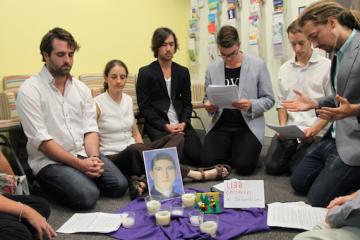 Prayer Vigil in MP Scott Morrisons Office - Kate Ausburn