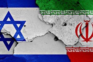 Israel Iran Flags