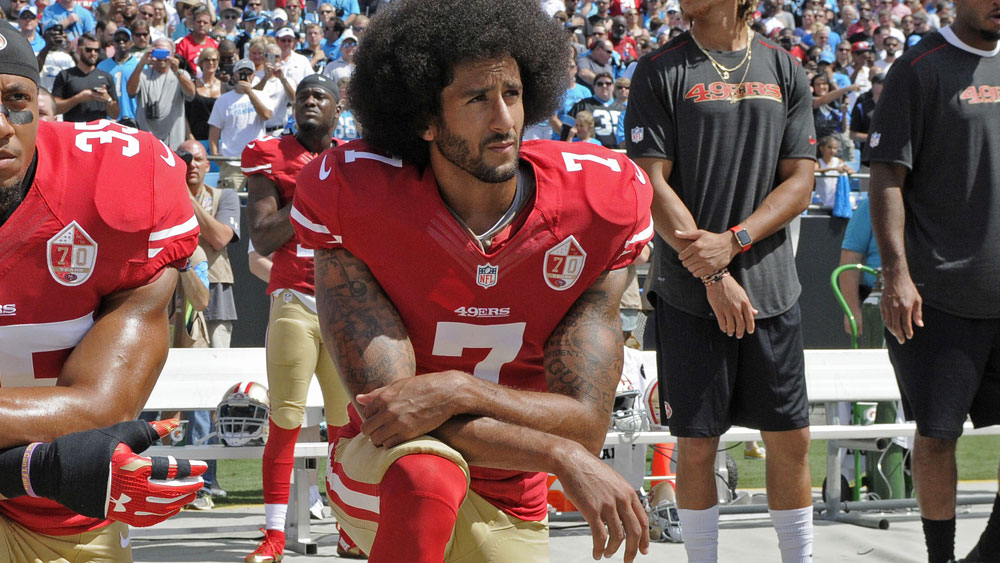 The Power and the Threat of Kneeling: Colin Kaepernick – Red ...