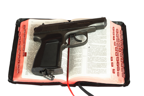 Image result for gun church