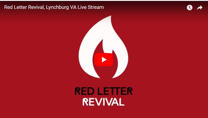 LynchburgRevival LIVE STREAM – Red Letter Christians
