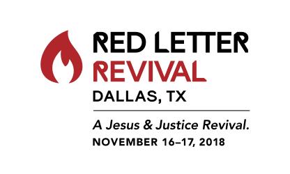 Red Letter Revival – Dallas – Red Letter Christians