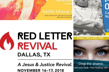 Red Letter Revival.Dallas Red Letter Christians