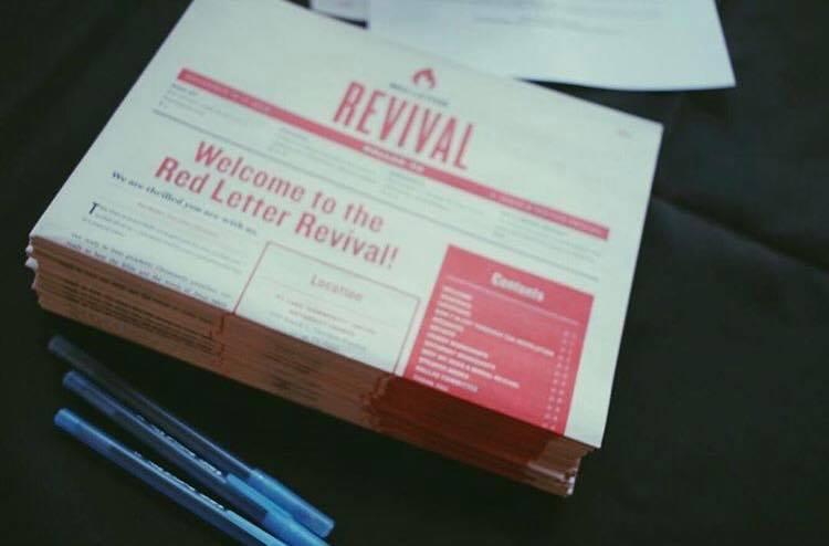Red Letter Revival.Don T Sleep Through The Revolution Red Letter Christians