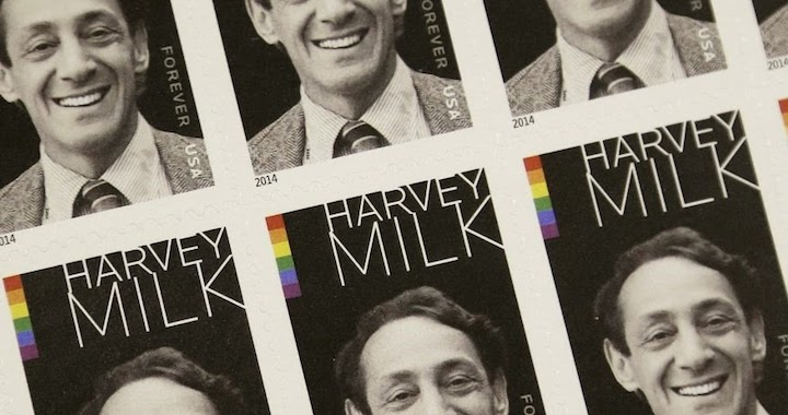 Harvey Milk Stamps