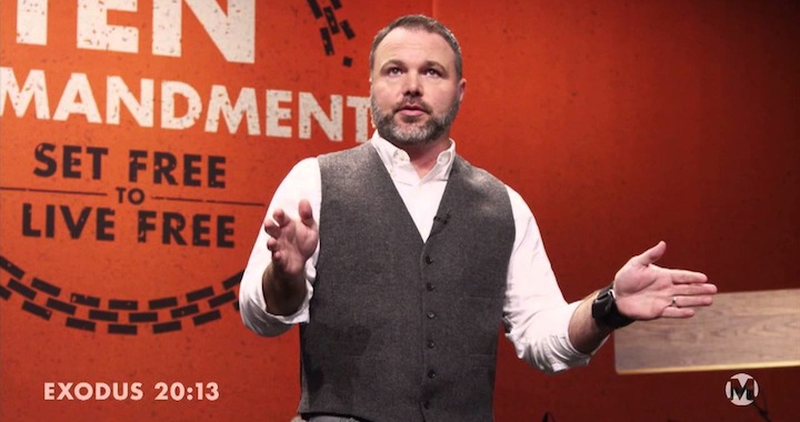 Mark Driscoll Pacifist