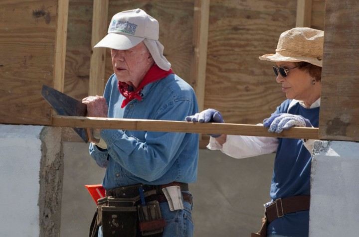 President Carter Habitat For Humanity E1349111323498