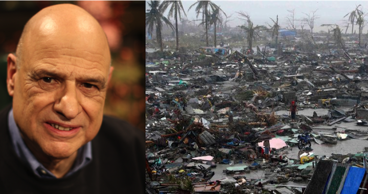 Tony Campolo Typhoon In Philippines