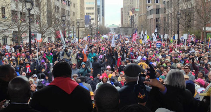 Moral Monday Stage Img